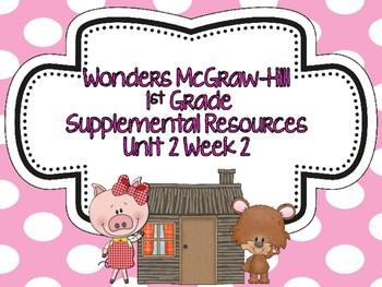 Wonders McGraw-Hill 1st Grade Unit 2 Week 2 Supplemental F