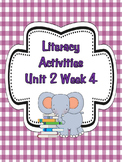 Wonders McGraw-Hill 1st Grade Unit 2 Week 4 Literacy Activities
