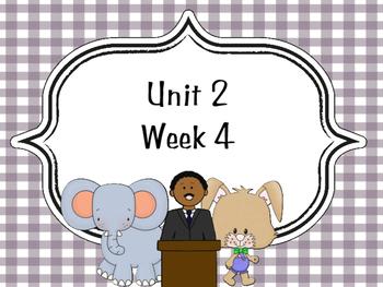 Wonders McGraw-Hill 1st Grade Unit 2 Week 4 Supplemental Focus Wall