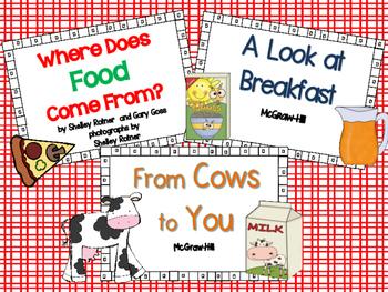 Wonders McGraw-Hill 1st Grade Unit 3 Week 5 Supplemental Focus Wall