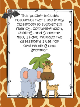 Wonders McGraw-Hill 1st Grade Unit 4 Week 1 Literacy Activities