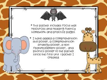 Wonders McGraw-Hill 1st Grade Unit 4 Week 1 Supplemental Focus Wall