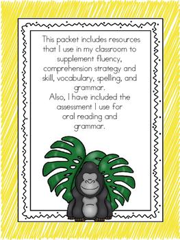 Wonders McGraw-Hill 1st Grade Unit 4 Week 5 Literacy Activities