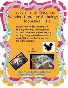 Wonders McGraw Hill 1.1