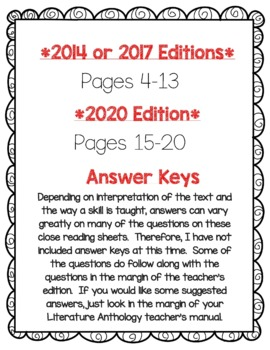 Wonders McGraw Hill 2nd Grade Close Reading (Literature Anthology Book) - Unit 2