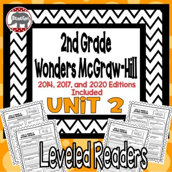 Wonders McGraw Hill 2nd Grade Leveled Readers Thinkmark - Unit 2