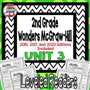 Wonders McGraw Hill 2nd Grade Leveled Readers Thinkmark - Unit 3
