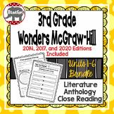 Wonders McGraw Hill 3rd Grade Close Reading Literature Ant