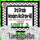 Wonders McGraw Hill 3rd Grade Leveled Readers Thinkmark - Unit 3