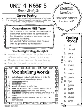 Wonders McGraw Hill 3rd Grade Newsletter/Study Guide - Units 1-6 **Bundle**