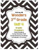Wonders McGraw-Hill 3rd Grade Unit 4 Story Skills Reading Strategies Pack