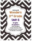 Wonders McGraw-Hill 3rd Grade Unit 6 Story Skills Reading Strategies Pack