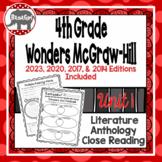 Wonders McGraw Hill 4th Grade Close Reading (Literature Anthology Book) - Unit 1