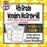 Wonders McGraw Hill 4th Grade Close Reading Literature Ant