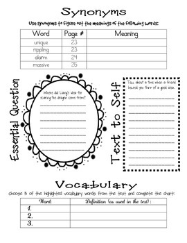 Wonders McGraw Hill 4th Grade Close Reading (Workshop Book) - Unit 1 Week 1