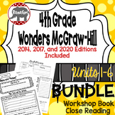Wonders McGraw Hill 4th Grade Close Reading (Workshop Book