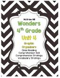 Wonders McGraw-Hill 4th Grade Unit 4 Story Skills Reading Strategies Pack