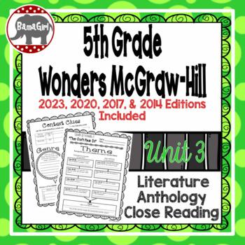 Wonders McGraw Hill 5th Grade Close Reading (Literature An