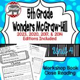 Wonders McGraw Hill 5th Grade Close Reading (Workshop Book) - Unit 4
