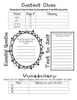 Wonders McGraw Hill 5th Grade Close Reading (Workshop Book) - Unit 1 Week 1