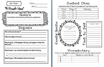Wonders McGraw Hill 5th Grade Close Reading (Workshop Book) - Units 1-6 *Bundle*