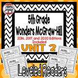Wonders McGraw Hill 5th Grade Leveled Readers Thinkmark - Unit 2