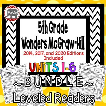 Wonders McGraw Hill 5th Grade Leveled Readers Thinkmark -