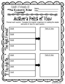 Wonders McGraw Hill 6th Grade Close Reading (Literature Anthology Book) - Unit 1