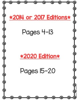 Wonders McGraw Hill 6th Grade Vocabulary Crossword Puzzles - Units 1-6 Bundle