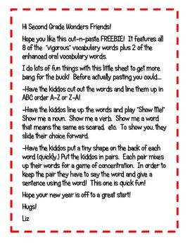 Wonders McGraw Hill FREEBIE!!!!! (2nd Grade)