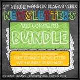 3rd Grade Wonders Reading Series Newsletters Units 1-6 COM