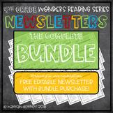 4th Grade Wonders Reading Series Newsletters Units 1-6
