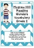 Wonders - McGraw-Hill Second Grade Vocabulary