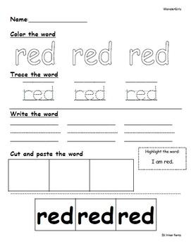 Kindergarten Wonders: Start Smart Week 1 - Powerpoint/Activities