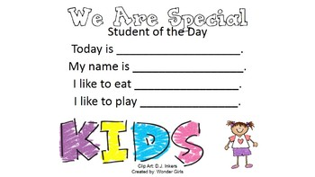 Kindergarten Wonders: Start Smart Week 1 - Powerpoint/Activities