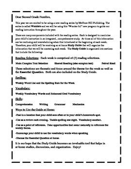 Wonders McGraw Hill Study Guides Unit 2 Grade 2