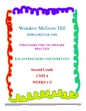 Wonders McGraw Hill Supplemental Vocabulary Unit - Unit 4