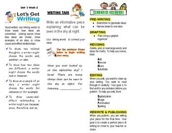 McGraw-Hill Wonders - Unit 3 Week 2-Reader's Response (2nd Grade)