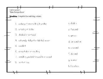 Wonders McGraw Hill Grade 5 Vocabulary Unit 5