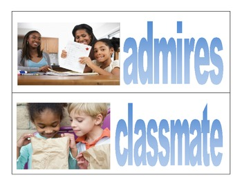 Wonders- McGraw Hill third grade- vocabulary cards Unit 1 Week 3