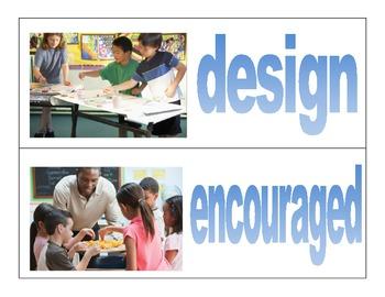 Wonders- McGraw Hill third grade- vocabulary cards Unit 1 Week 4