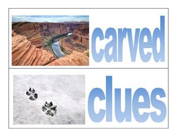 Wonders- McGraw Hill third grade- vocabulary cards Unit 1 Week 5