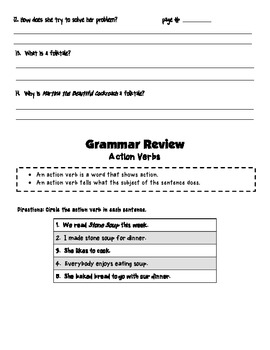 Wonders McGraw-hill Unit 3 Weeks 1-5 Story, Grammar, and Vocabulary Review