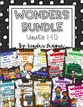 Wonders Mega Pack Units 1-10 by Kinder League