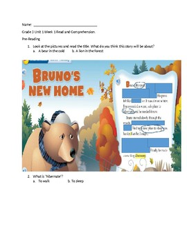Wonders (McGraw Hill) Text Modifications for ELLS