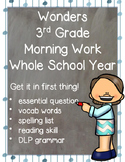 Wonders 3rd Grade: Morning Work for the Whole School Year
