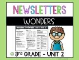 Wonders Newsletters Unit 2
