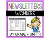 Wonders Newsletters Unit 4