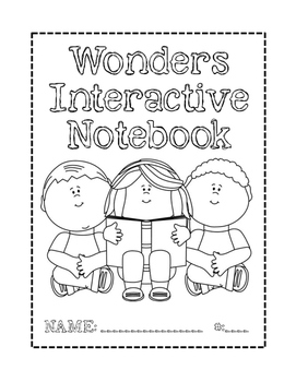 Wonders Notebook Cover