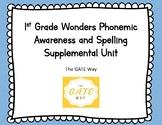 "1st Grade ""Wonders"" Phonemic Awareness and Phonics Companion Guide: Unit 1"